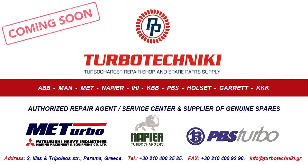 Turbotechniki Marine Turbocharger Services - Website under construction.